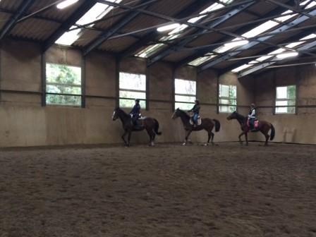 乗馬クラブの初級馬場レッスン 茨城県阿見町W様