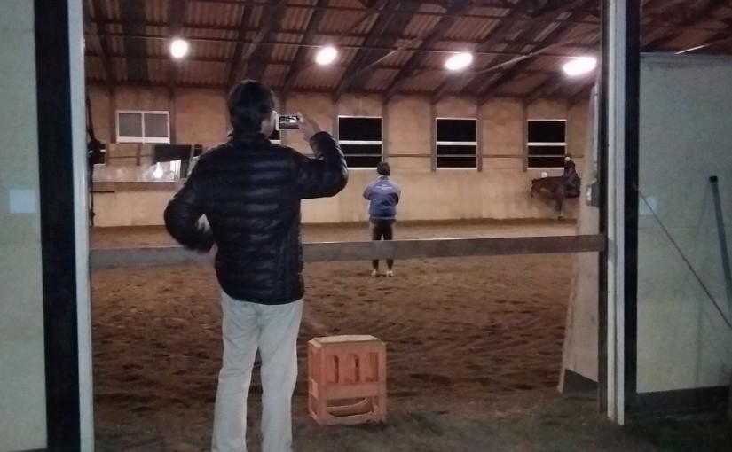 乗馬クラブのレッスン見学風景 茨城県つくばみらい市 G様