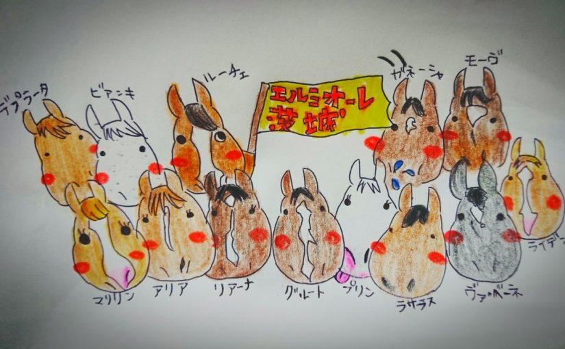 乗馬クラブで中級馬場レッスンをしました(千葉県習志野市/K様)