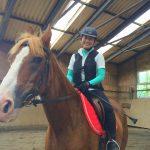 乗馬クラブで初心者レッスンを受講して来ました! 茨城県つくばみらい市 Kさん