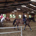 乗馬クラブでインドアレッスンを受講しました。 茨城県水戸市 Aさん