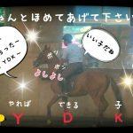 乗馬クラブで下乗りの見学をしました(茨城県稲敷市/エルミオーレ茨城)